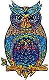 Kengbi Puzzle Adulto Rompecabezas de Madera Piezas únicas de Rompecabezas de Animales,Rompecabezas de Animales para Adultos lo Mejor para la colección de Juegos Familiares …