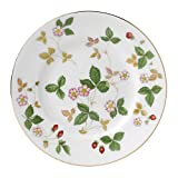 Wedgwood Wild Strawberry Bread and Butter Plate, White...