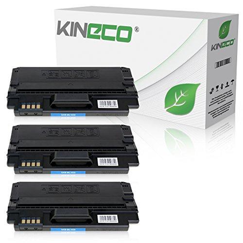 3 Toner kompatibel zu Samsung ML-1630, MLD-1630A/ELS ML-1630W SCX-4500W - Schwarz je 3.000 Seiten