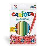 Carioca 41875 Pastello Esagonale, 36 Pezzi