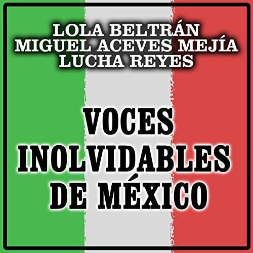 Lola Beltrán, Miguel Aceves Mejía & Lucha Reyes