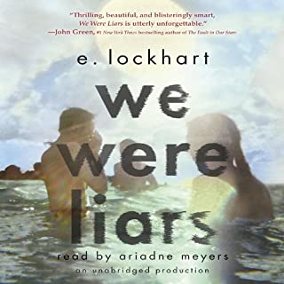 We Were Liars audiobook cover art