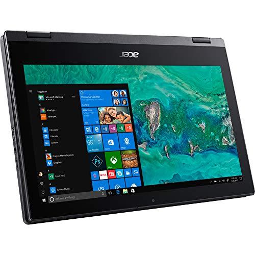 11.6-inch Acer Spin 1 Ultra Slim HD Touchscreen 2-1 Laptop Intel Processor N4000 4GB 64GB SSD HD LED Windows 10 in S Mode HDMI Webcam