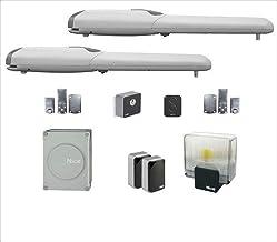NICE Complete set Wingo 4024 voor automatisering van vleugelpoorten, 24 V