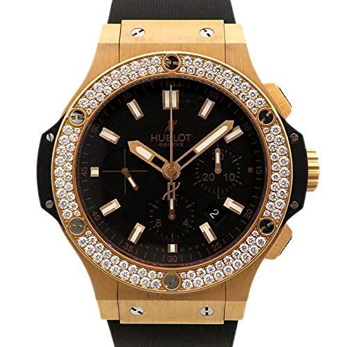 【ディスカウントストア】(ウブロ)エボリューション ベゼルダイヤ 301.PX.1180.RX.1104 ブラック文字盤 腕時計 (W137248) [ブランド][並行輸入品]