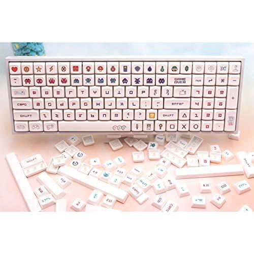 PBT XDA Profile Cherry MX Switches Keycaps 162 Keys All Set Dye Sublimation...