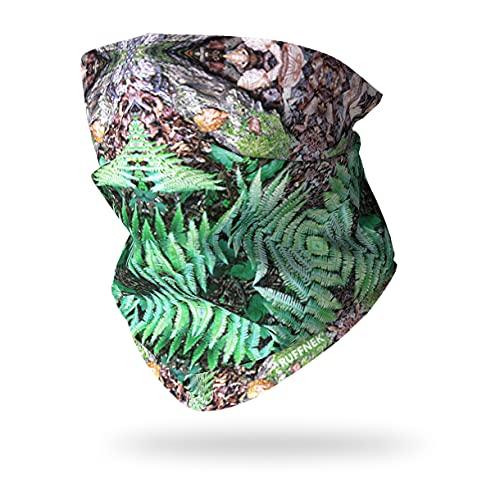 Ruffnek Fougère Camouflage Multifonction Cache-Cou pour Camping, Militaire, Chasse, Camouflage Accessoires - Taille Unique pour Homme, Femmes et Enfants - pour Le Sport et Le Plein air