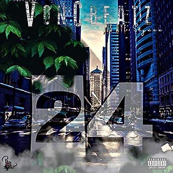 24 (feat. Jus' Aye & Styxxx)