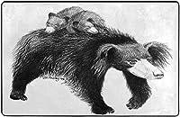 ナマケグマスーパーソフトインドアモダンエリアラグふわふわラグダイニングルームホームベッドルームカーペットフロアマットベビーキッズ犬猫60x39インチ-80x58インチ