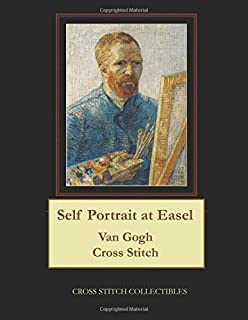Self Portrait at Easel: Van Gogh Cross Stitch Pattern