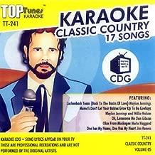 Top Tunes Karaoke CD+G Classic Country Vol. 5 TT-241