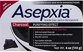 Asepxia Activated Charcoal Cleansing Bar, 4 Ounce