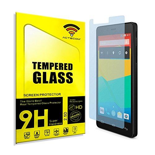 actecom Protector Pantalla Cristal Templado BQ Aquaris E5 / HD / FHD Maxima Proteccion Premium