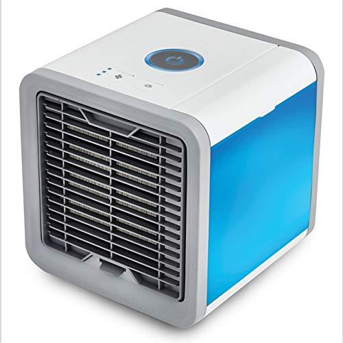 XGP Sommer Mini Ventilator Persönlich Wassergekühlt Luftbefeuchter Luftbefeuchter Klimagerät Tragbare Klimaanlage Luftbefeuchter Ventilator, weiß