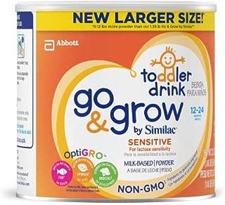 Similac Go & Grow Sensitive Non-GMO Toddler Formula (Pack of 16)