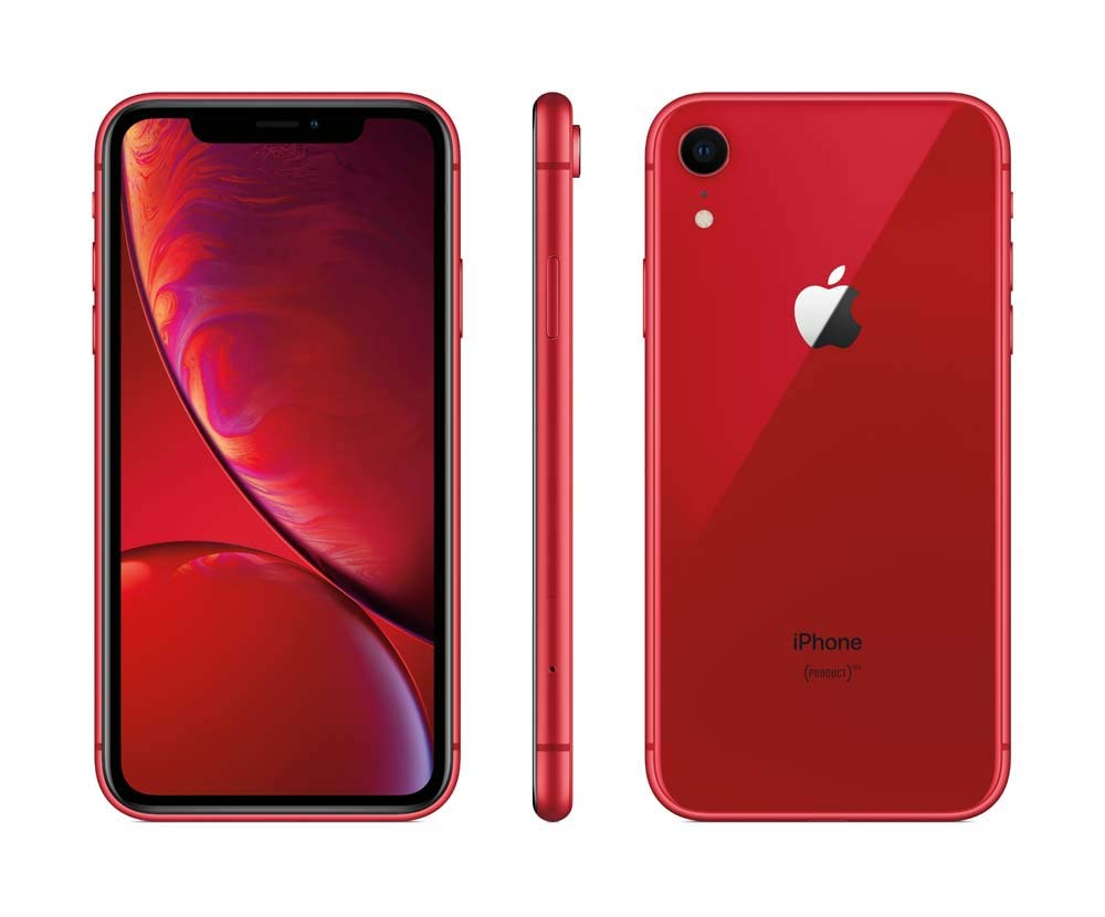 Apple iPhone XR, 64GB, Red - For Sprint (Renewed)