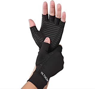 Sponsored Ad - TA.TIAOM Guaranteed Highest Copper Content. Best Copper Glove for Carpal Tunnel, Computer Typing, and Every...