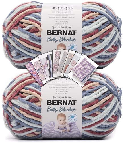 Bernat Baby Blanket Yarn - Big Ball (10.5 oz) - 2...