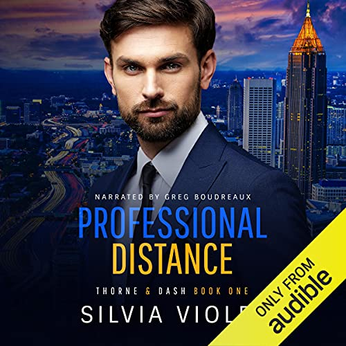 Professional Distance Audiobook By Silvia Violet cover art