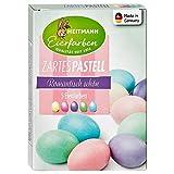 Heitmann - Tinta per Uova di Pasqua, Colori Pastello delicati, Colori Fluo a Freddo, Giallo, Rosa, Turchese, Verde, Lilla