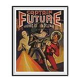 Captain Future Sheldon Leonard Apartment Poster