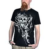 Hijos de la anarquía - Camiseta Reaper SAMCRO Sons of Anarchy - Negra - S