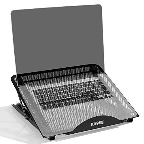 tablet proiettore Duronic DML131 Supporto per Laptop Regolabile – Supporto Pieghevole - Ideale per Computer