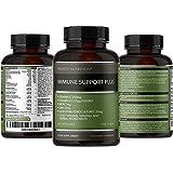 Immune Booster Multivitamin - Vitamin D 1000IU, C, B12, Iron, Zinc, Turmeric and Probiotics - 17 Key Vitamins, Minerals & Herbs - 90 Capsules