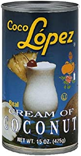 Coco Lopez Real Cream of Coconut, 15-Ounce (Pack of 24)