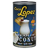 Coco Lopez Cream of Coconut, 15 Ounce (Pack of 24)