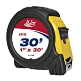 Malco CT430 1-Inch By 30-Feet Non-Magnetic Tape Measure