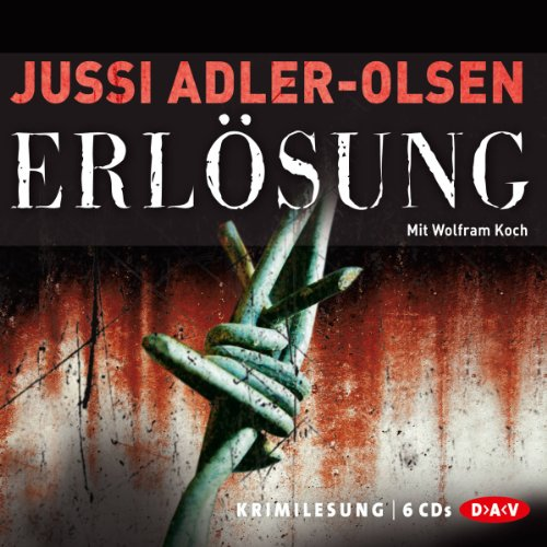 Erlösung (Carl Mørck 3) audiobook cover art