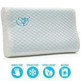 Orthopedic Memory Foam Pillow - Comfortable Hypoallergenic Pillow - Ergonomic Cervical Pillow