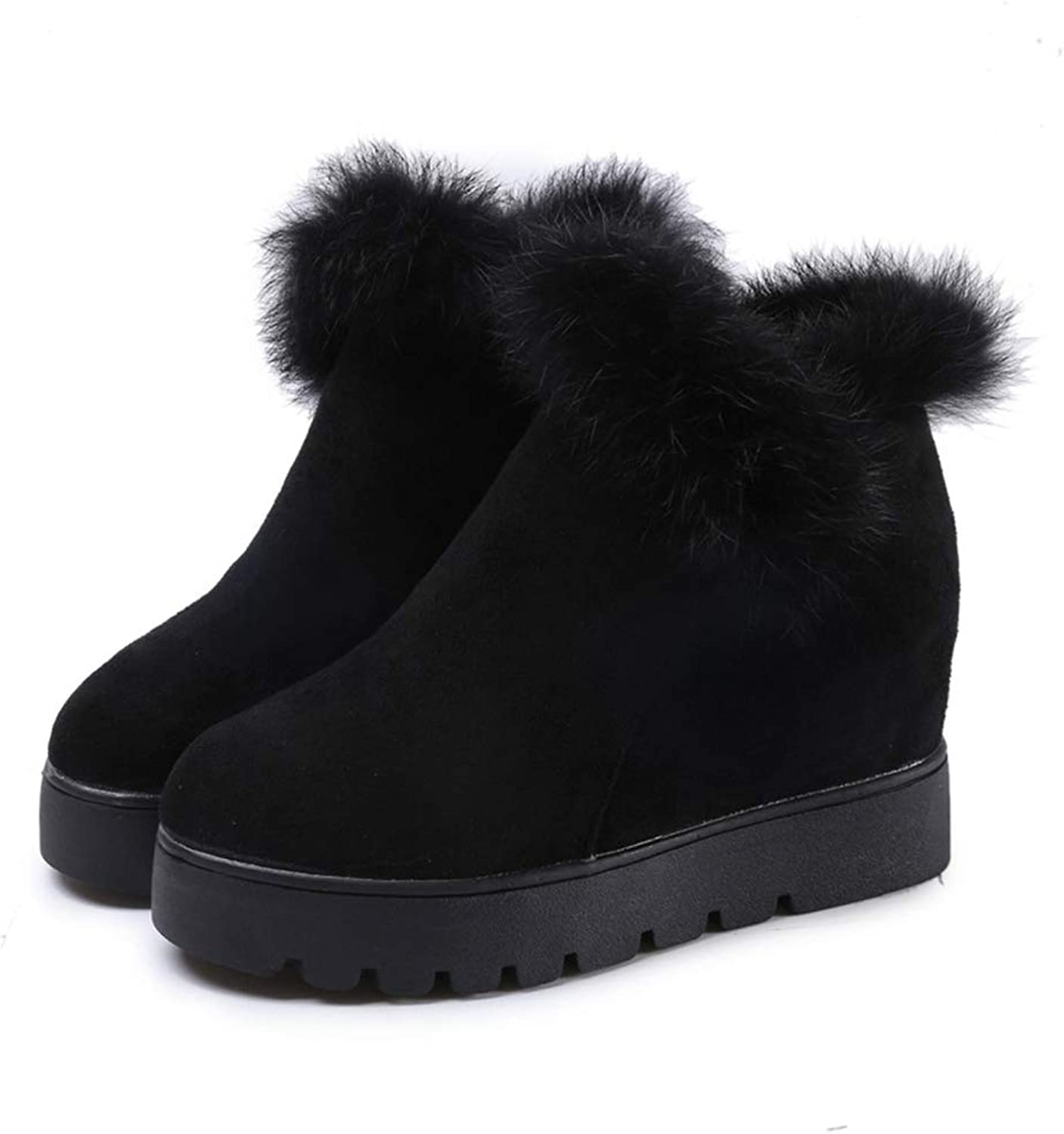 Super frist Women's Fur one Snow Boots, Thicker in The Winter, Plus Cashmere Boots