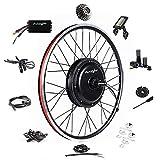 Ebike Conversion Kit 48V 1500W 26' Direct Drive Waterproof Electric Bike Conversion Kit - Ebike Kit - Hub Motor Kit S830 LCD Display (Rear/LCD/Twist)