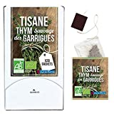Aromandise Tisane Thym des Garrigues BIO - boîte de 20 sachets