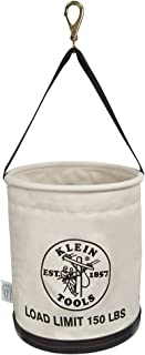 Klein Tools 5109SLR All Purpose Work Bucket with Plastic Bottom with Drain holes, Load Rated Up to 150-Pounds
