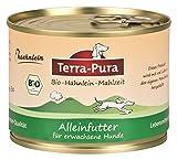 Bio de hähnlein comida para perros 200g lata X 24Terra pura