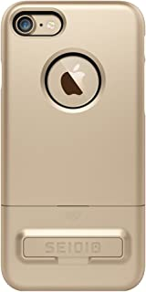 Seidio Surface iPhone 7用覆盖支架功能CSR7IPH7K-GDK ゴールド・ブラック