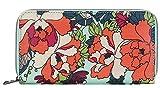 Sakroots Artist Circle Large Wallet (Seasfoam)