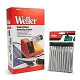 Weller WLC200 80-Watt Soldering Station with 25-Piece Flux Brushes