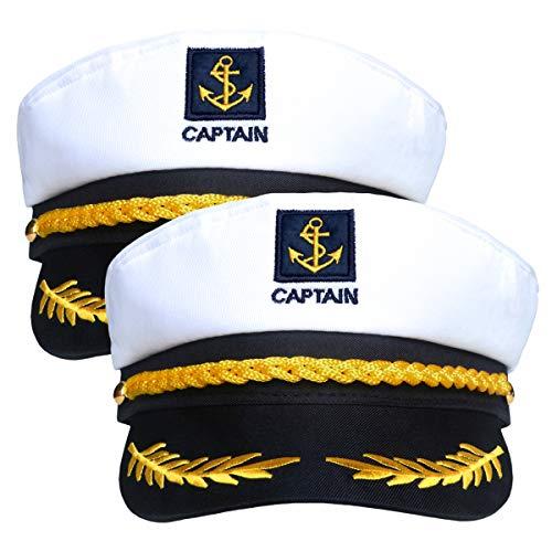 2 Pieces Navy Marine Admiral Style …