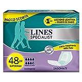 Lines Specialist Sagomato, 48 Assorbenti per Incontinenza Uomo e Donna