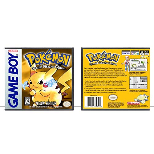 Pokémon Yellow Version: Special Pikachu Edition | Gameboy - Game Case Only