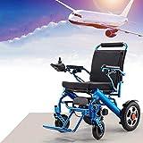 SU Elektrorollstuhl, Faltbare Elektrorollstühle Elektrorollstuhl Leichter, vollintelligenter Elektrorollstuhl Superausdauer kann im Flugzeug Sein Sicherer, älterer Rollstuhl -