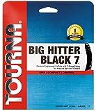Tourna Big Hitter Black7 Ultimate Spin Polyester Tennis String 16g set