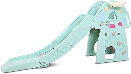 Tienda de moda y compras online. Toboganes para Niños Niños Niños Toboganes de Interior Largos pequeños Juguetes de plástico projoección Muy Segura y Saludable (Color   azul, Talla   160  40  81cm)  tienda en linea
