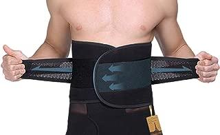UTRAX Sweating Adjustable Weight Loss Slimming Belt Waist Trimmer Back Support for Men Women