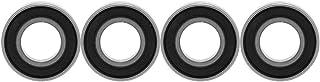 10-delig snelgroefkogellager, dubbelzijdig, met rubber afgedicht kogellager, uitstekende mechanische eigenschappen, diepgr...