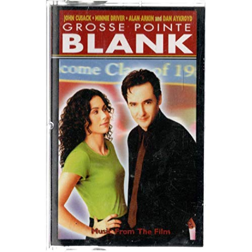 Various: Grosse Pointe Blank Soundtrack Cassette VG++ Canada London